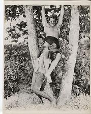 Vintage Gordon Scott Tarzan B&W Photo - Darrell Richardson Collection (M6204)