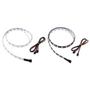12V-24V-white-light-LED-strip-length-60cm-with-cable-3D-printer-parts-n-PN