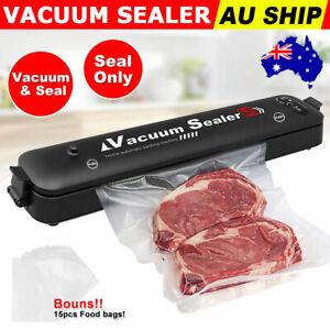 Food Vacuum Sealer Machine 29.5 cm - Black (0750440973807)