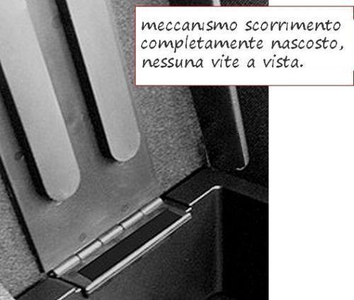 Bracciolo regolabile SEAT ARONA nero PROMO originale Wood Company mittelarmlehne
