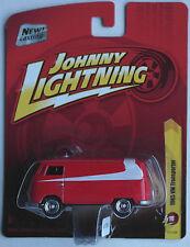 "Johnny Lightning – VW t1 Transporter rojo/blanco ""Starsky & Hutch"" nuevo/en el embalaje original"