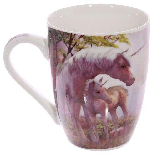 tasse kaffeetasse einhorn marchen kaffeebecher teetasse madchen fantasy mauve