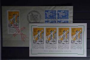 Ma Diverses Philatélie Raketenpost Suisse 5.11.1961 Preuve + Postfr. Vignettenbl.-afficher Le Titre D'origine