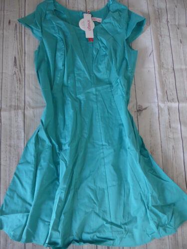 899 Sheego Damen Kleid Etuikleid Cocktailkleid Gr 827 40 bis 48 blau Türkis
