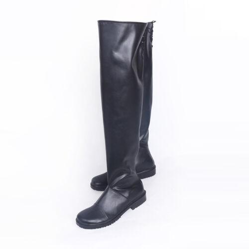NieR Automata Steam YoRHa 2B No 2 Type B Boot Shigh-heeled Shoes Cosplay Sa