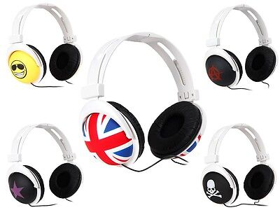 Stereo Kopfhörer Musik Headphones iPod Earphone Headset Stern