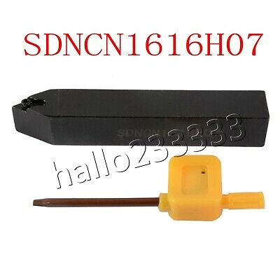 10* DCMT070204 UE6020 10x100mm Lathe External Turning Tool Holder SDACL1010H07