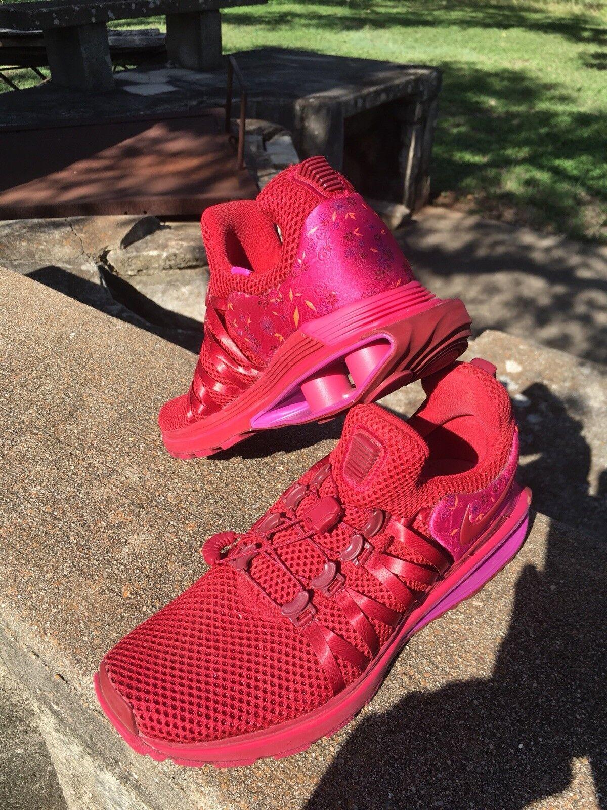 Women's Nike Shox Gravity Red Crush Wild Cherry size 7.5