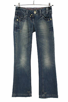 River Island Relaxed Bootleg Jeans - Size UK 6 / EUR 32 (ID3828)