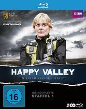 HAPPY VALLEY-IN EINER KLEINEN STADT STAFFEL 1 2 BLU-RAY NEU