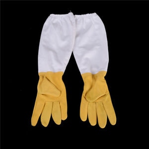 Goatskin-Protective-Bee-Keeping-Vented-Long-Sleeves-Beekeeping-Gloves-M-amp-O