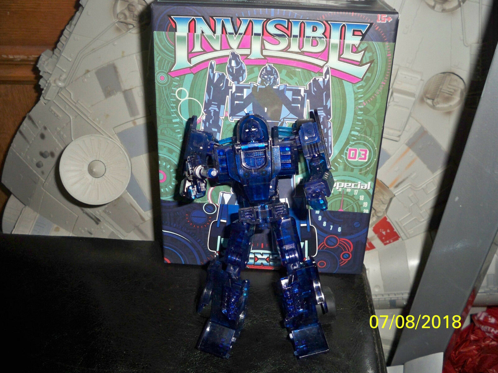 DX9 Invisible Clear blu limited edition