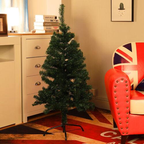 3ft-7ft Traditional Artificial Christmas Tree Home Plain Xmas Pine Tree Decor
