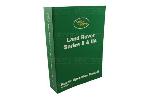 Series 2 /& 2a Part# 606407 Land Rover Workshop Catalogue