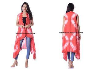 46c061b5764c Image is loading Women-Holiday-Pom-Lace-Shibori-Indian-Kimono-Cardigan-