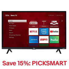 TCL 43-inch 4K Ultra HD HDR Roku Smart TV - 43S425 15% off with PICKSMART