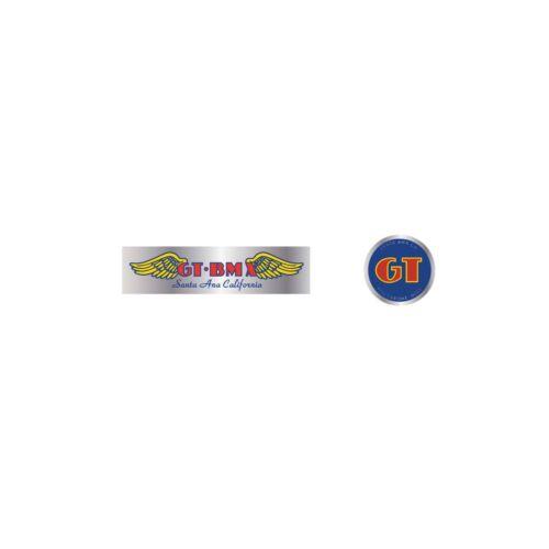 chrome GT BMX Santa Ana handle bar set