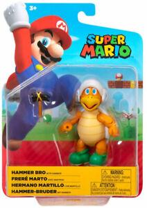 Super Mario 10.2cm Maßstab Figur - Hammer Bro mit Hammer Brandneu