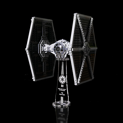 Display stand 3D slots for Lego 9492-75211 Tie Fighter Star Wars