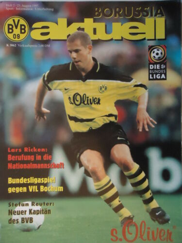 VfL Bochum Programm 1997//98 Borussia Dortmund
