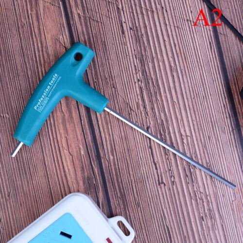 H1.5//3//5//6mm T-Handle allen key ball tip hex hexagon wrench repair hand tool new