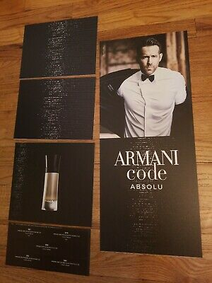 armani code ryan reynolds