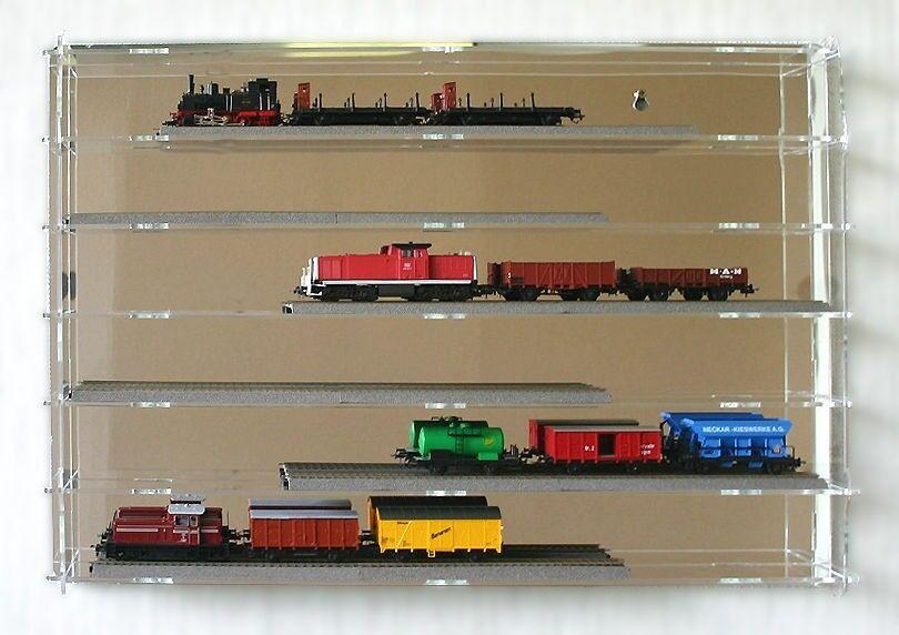 Web oficial SORA SORA SORA H0 Model Railway DisJugar Cabinet, Back-Panel  Reflective, Wall-Mountable  tienda en linea