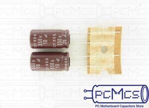 5 Pcs of Nippon ChemiCon NCC KXG Series 350V 47UF Long Life Capacitor 16x20
