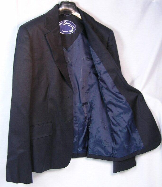 Penn State University Women's Team 2 Button Blazer Licensed Logo Sport Coat