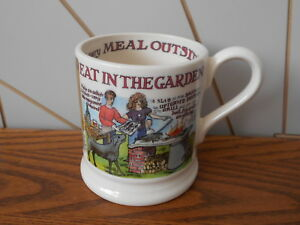 Details about EAT IN THE GARDEN ceramic/china mug EMMA BRIDGEWATER A Year  In The Country