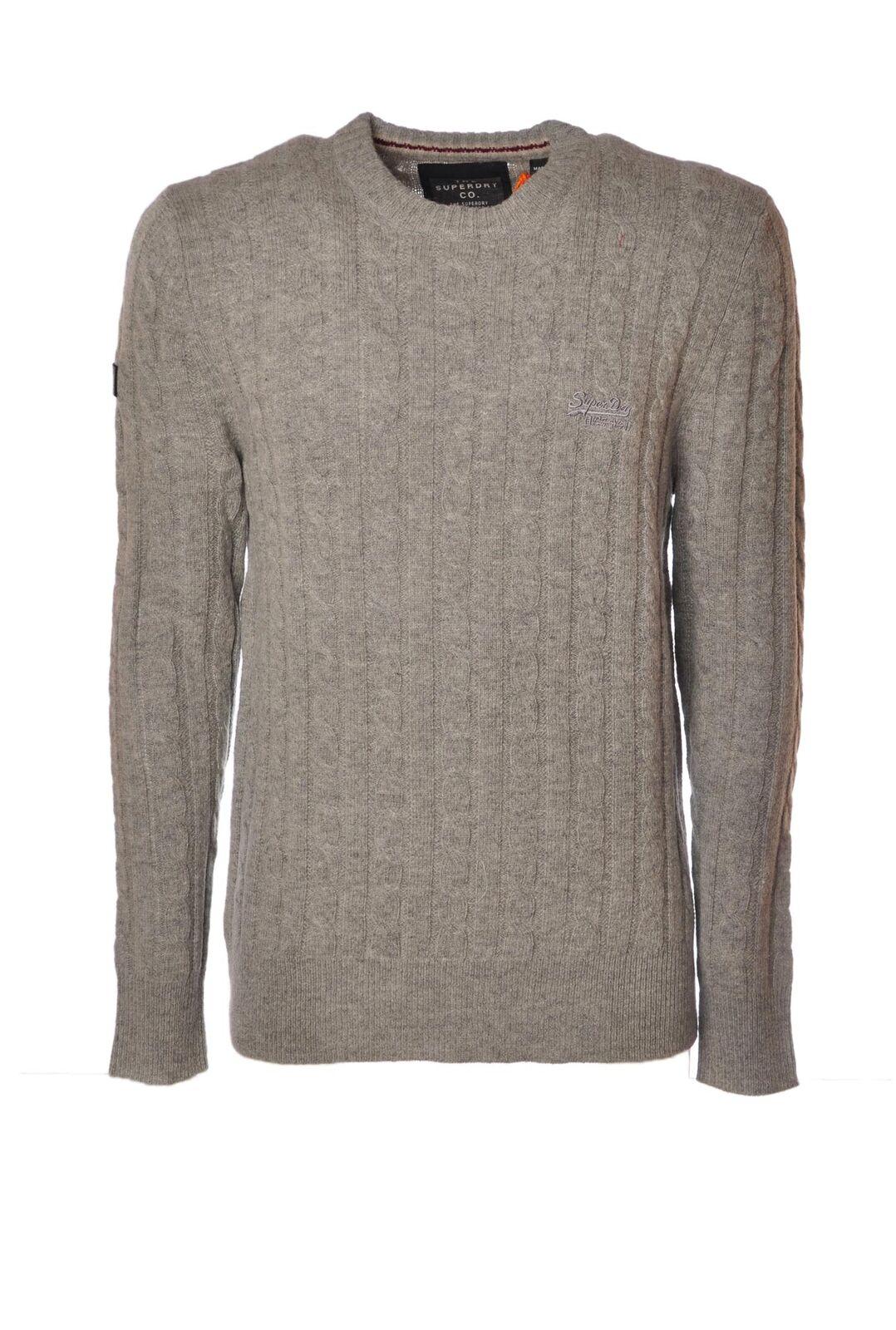 Superdry  -  Sweaters - Male - Grau - 4348126A184533