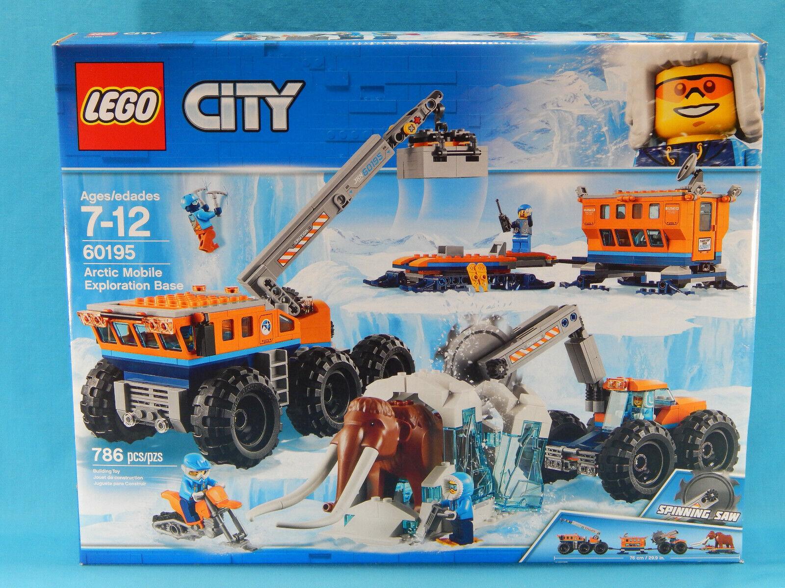 Lego City 60195 Arctic mobile d'exploration  de base 786pcs Neuf Scellé 2018  choix à bas prix
