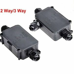 Sensational Waterproof Junction Box Case Electrical Cable Wire Connector Wiring Database Gramgelartorg