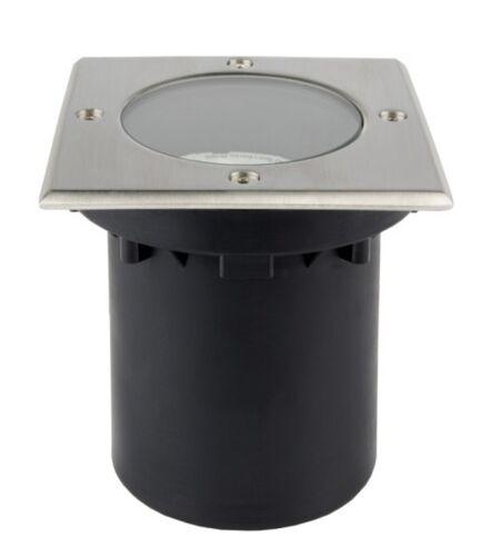 Dimmbare GU10 GX53 LED Bodenleuchte Einbau Lampen Garten Spot Leuchten IP65
