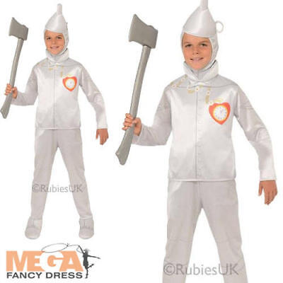Wizard of Oz Tin Man Boys Fancy Dress Fairytale World Book Day Childs Costume