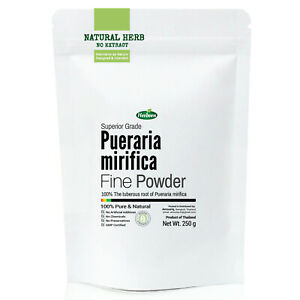 Details about Pueraria Mirifica White Kwao Krua Kao Root Powder Capsules  Breast Enlargement