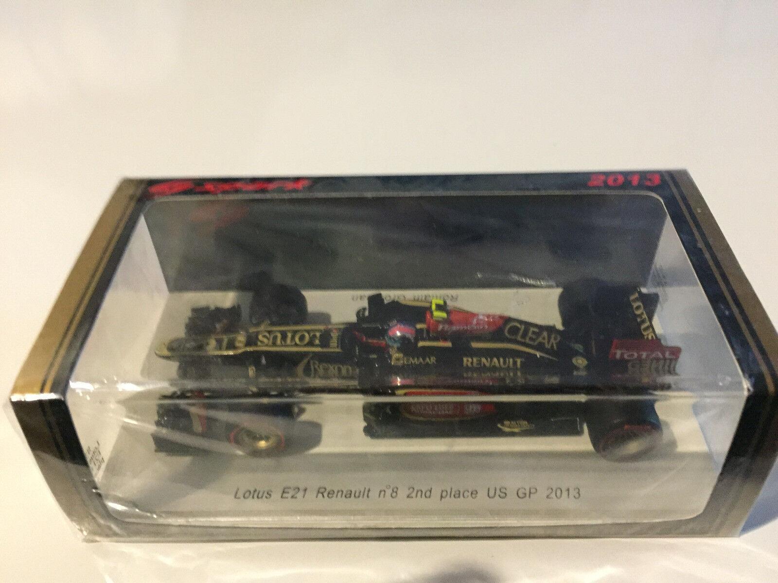 Lotus Renault E21 US GP 2013  Grosjean Spark 1 43  les clients d'abord