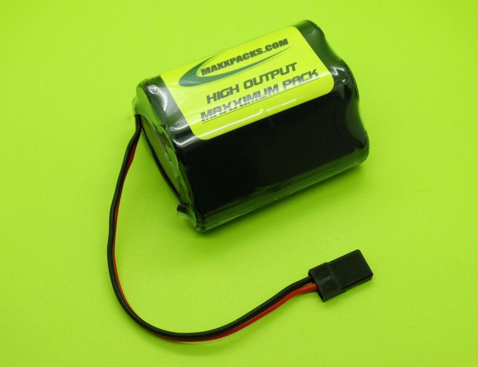 TWO TWO TWO 6v 2700 A HUMP Rx BATTERIES 4 RC JR CONNECTOR   MADE IN USA   2705H-U 75fe50