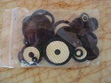 Prestini Kangaroo Pad Set Black Kangaroo Leather