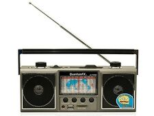 QFX J-114U AM/FM Portable Radio Shortwave World Receiver +USB/SD Inputs