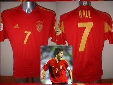 España España Raul Camiseta Jersey Fútbol Adidas Adulto S Real Madrid 2004