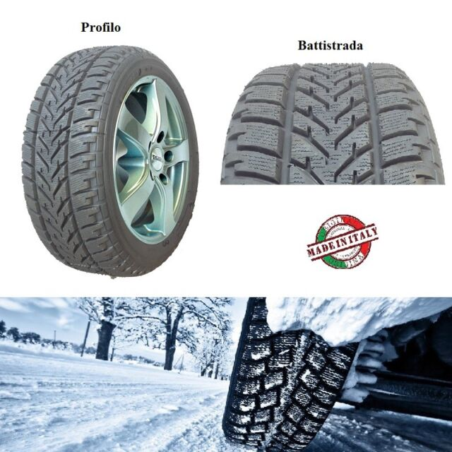 Neumáticos INVIERNO homologado WINTERGREEN W210 made in Italy 215/60 r15 98H