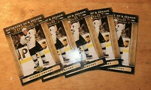 *** Sidney Crosby 2006-07 Biography of a Season Lot of 5 cards
