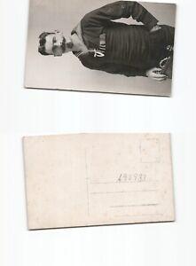 b93933-Flandern-Fotoansichtskarte-deutscher-Marinekorpssoldat-mit-Tauch