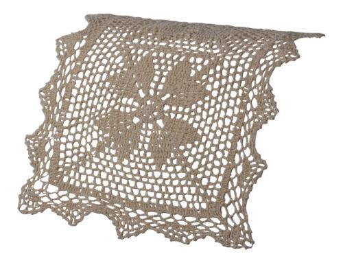 """AUSSIEBUM Floral Crochet chaise à dossier canapé Protecteur Siège 12 X 18/"""""""