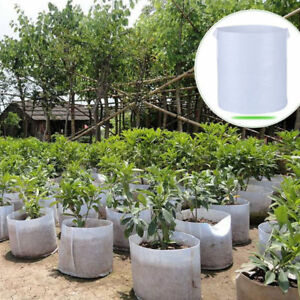 Round-Fabric-Pots-Plant-Pouch-Root-Container-Grow-Bag-Aeration-Container-handles