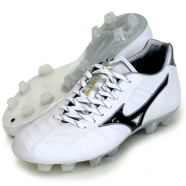 Mizuno Made in Japan REBULA V1 Soccer Football schuhe Kangaroo P1GA1880 Weiß