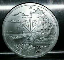 2015 Finding Silverbug island #1 reddit 1 oz .999 silver round privateer pirate