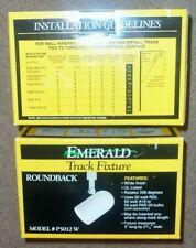 New Emerald Track Lighting Fixture #P5011-W in White factory packaging