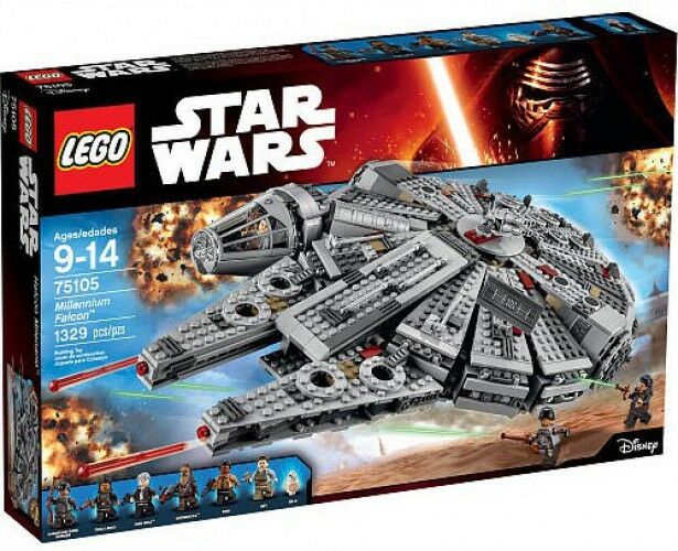LEGO Star Wars The Force Awakens Millennium Falcon Set  75105
